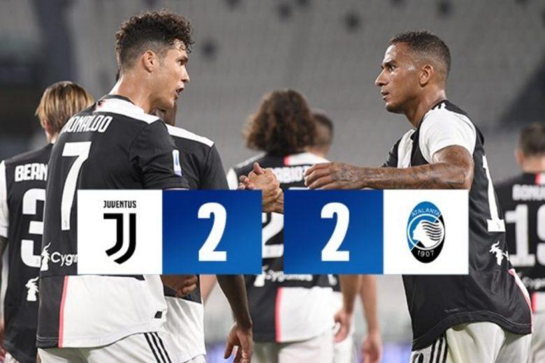 La Juventus agguanta una straordinaria Atalanta