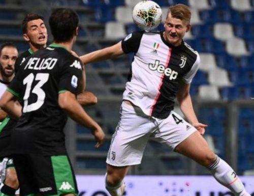 Juventus, col Sassuolo è pari e allarme rosso