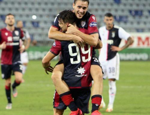 Solita spenta Juventus è il Cagliari a far festa