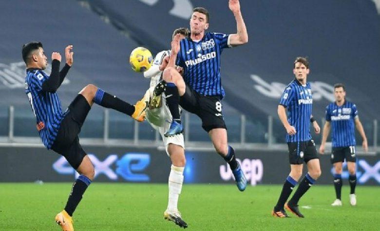 Juventus fermata da un'ottima Atalanta