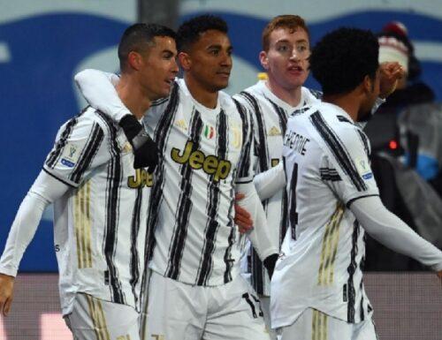 La Juventus sul volo CR7 agguanta il terzo posto