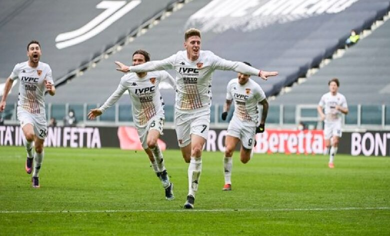 Horror Juventus. Il Benevento passa a Torino