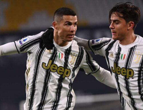 Ronaldo e Dybala fanno 100 col Sassuolo